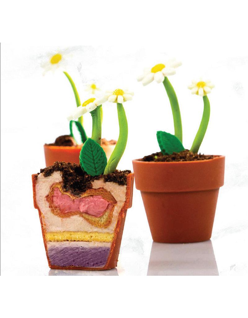 Dobla Dobla - Chocolate Flower Pot Mini (24ct), 18139