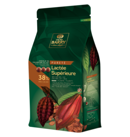 Cacao Barry Cacao Barry - Lactee Superieure Milk Chocolate 38% - 5kg/11 lb, CHM-O38LSUP-US-U77