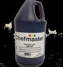 Chefmaster Chefmaster - Super Red Gel food color - 1 gallon