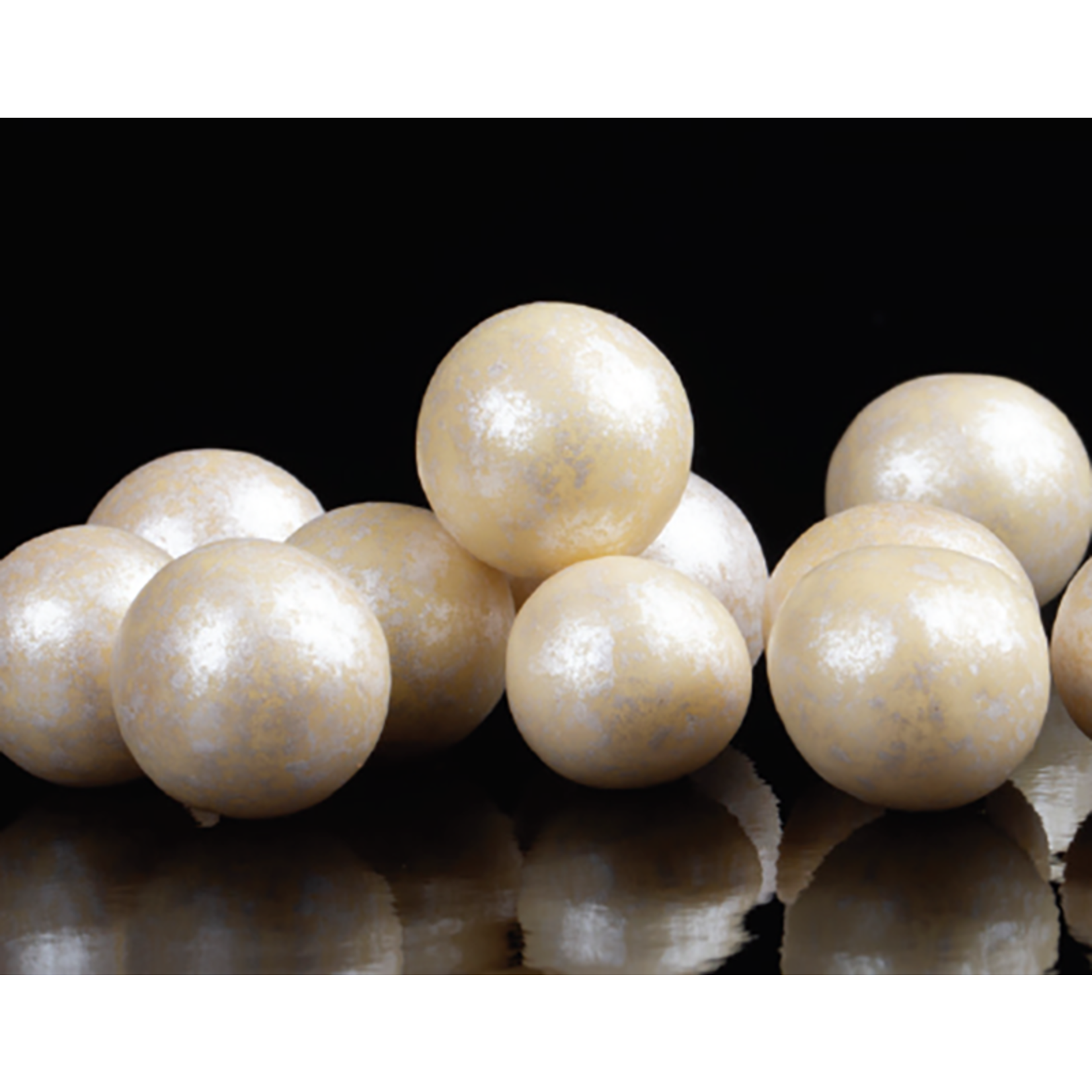 Smet Smet - Pearl White Lux Pearls, Large - 8oz, E1464-R