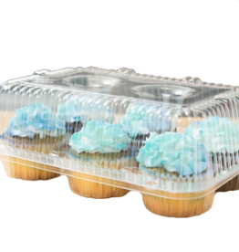 The Pastry Depot Cupcake Carrier - 6 ct regular