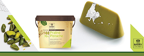 New Pistachio Praline Paste from Cacao Barry