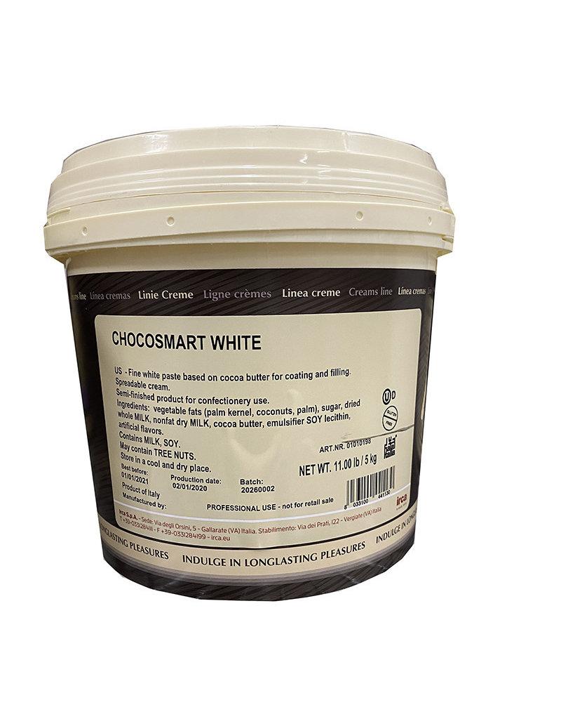Irca Irca - Chocosmart White Chocolate Ganache, 5kg/11lb - 01010198