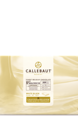 Barry Callebaut Barry Callebaut - No Sugar Added White Chocolate Block 30.6% - 5kg/11lb, MALCHOC-W-123 (box of 5)