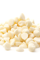 Van Leer Van Leer - 1000ct White Chocolate Chips 24% - 22 lb, CHW-DR-2010610-015