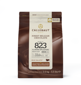 Barry Callebaut Barry Callebaut - 823 Milk Chocolate 33.8% - 2.5kg/5.5lb, 823-US-U76