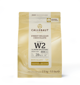 Barry Callebaut Barry Callebaut - W2 White Chocolate 28% - 2.5kg/5.5lb, W2-US-U76