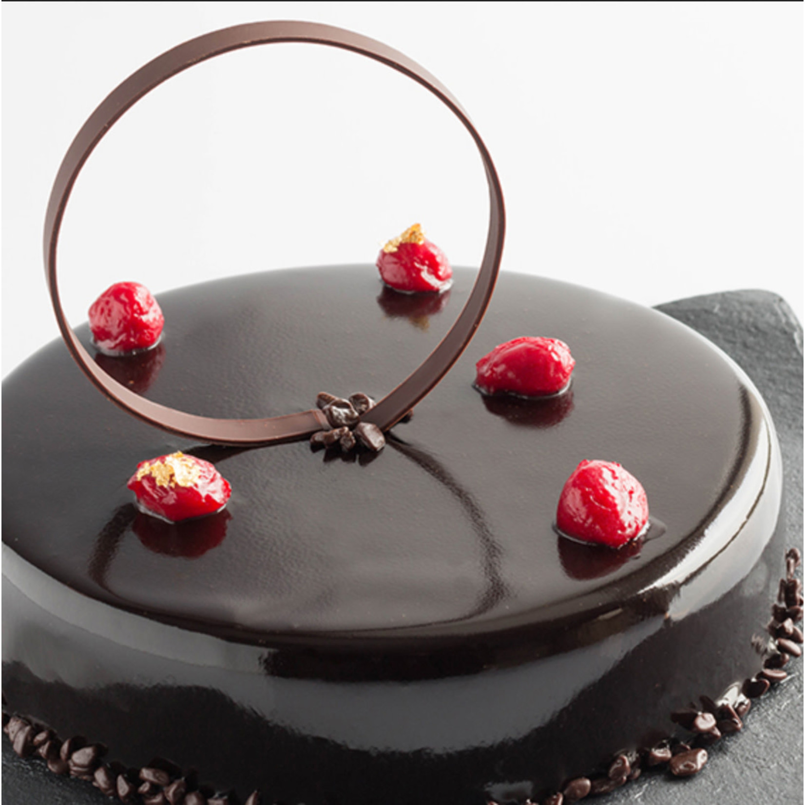 Irca Irca - Mirror Glaze, Dark Chocolate 6kg/13.2lb - 01030222