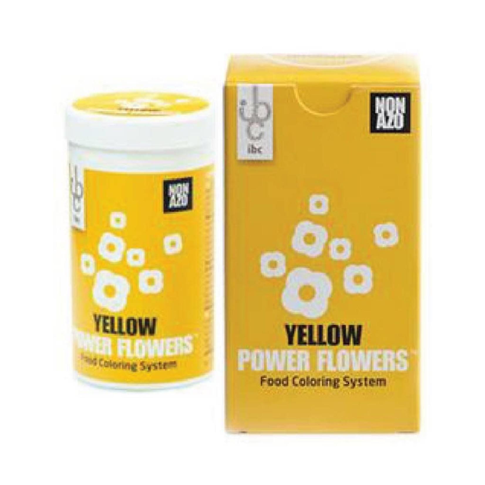 Mona Lisa IBC - Power Flowers, Yellow -50g, CLR-19431-999 (box of 4)