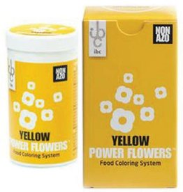 Mona Lisa IBC - Power Flowers, Yellow -50g, CLR-19431-999 (box of 4)