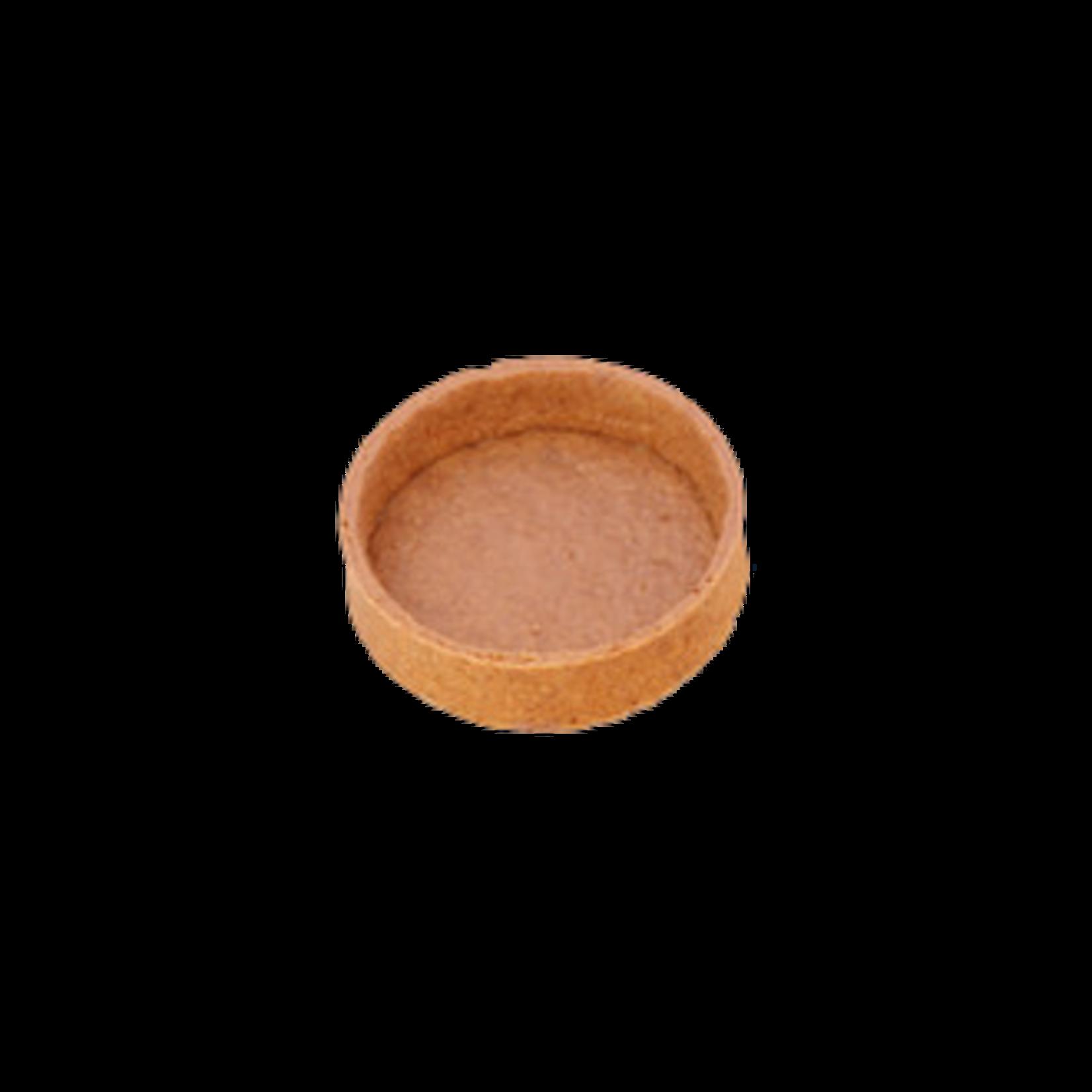Delifrance Delifrance - Tart shell, Graham round - 3'' (60ct), 79030