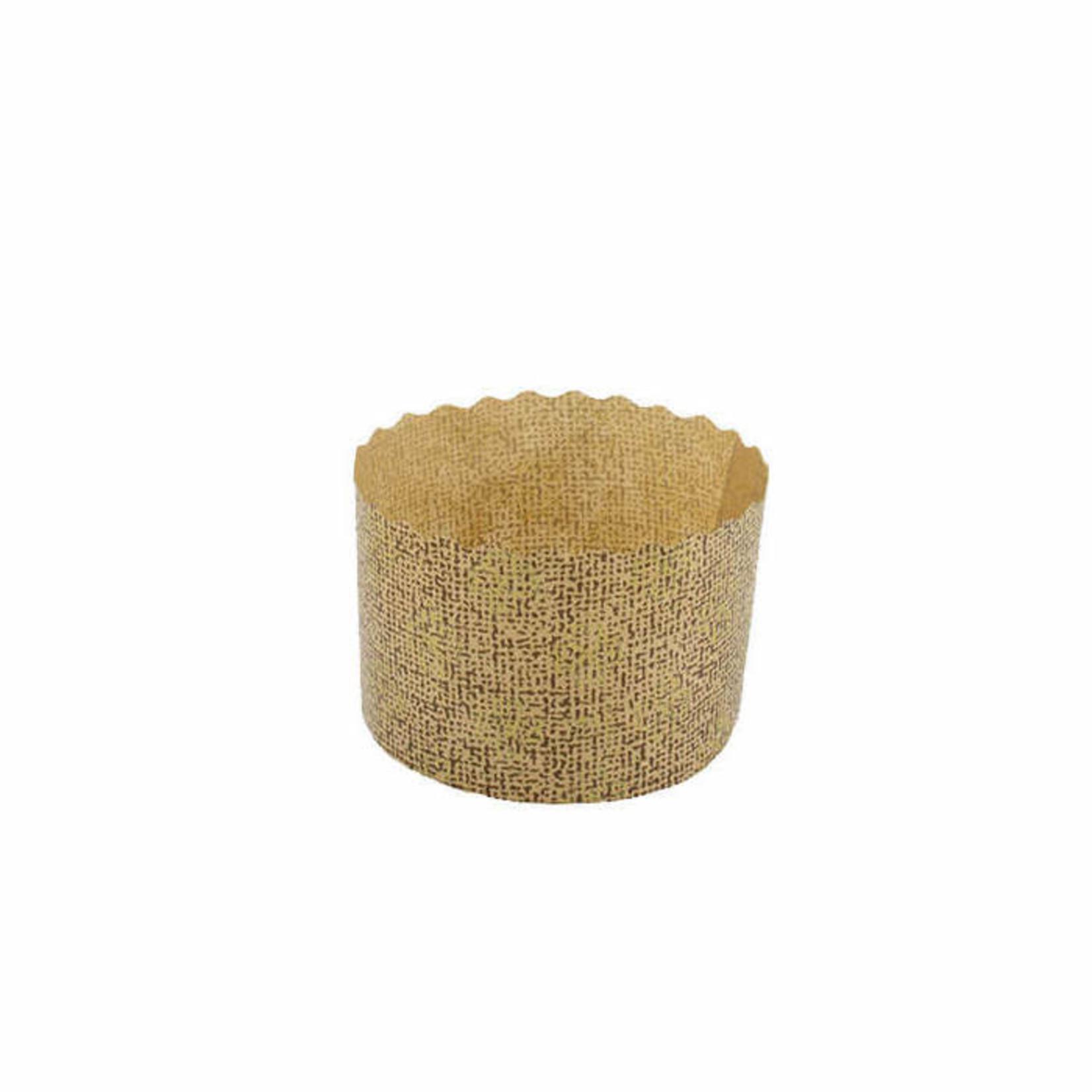 "Novacart Novacart - Panettone Baking Mold - 2-3/4"" x 2"" (125ct), P70/50, G9F13004-S"