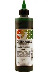 Chefmaster Chefmaster - Dark Green Airbrush food color - 9oz