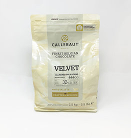 Barry Callebaut Barry Callebaut - Velvet White Chocolate 32% - 2.5kg/5.5lb, W3-2B-U76