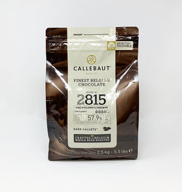 Barry Callebaut Barry Callebaut - 2815 Dark Chocolate 57.9% - 2.5kg/5.5lb, 2815-2B-U76