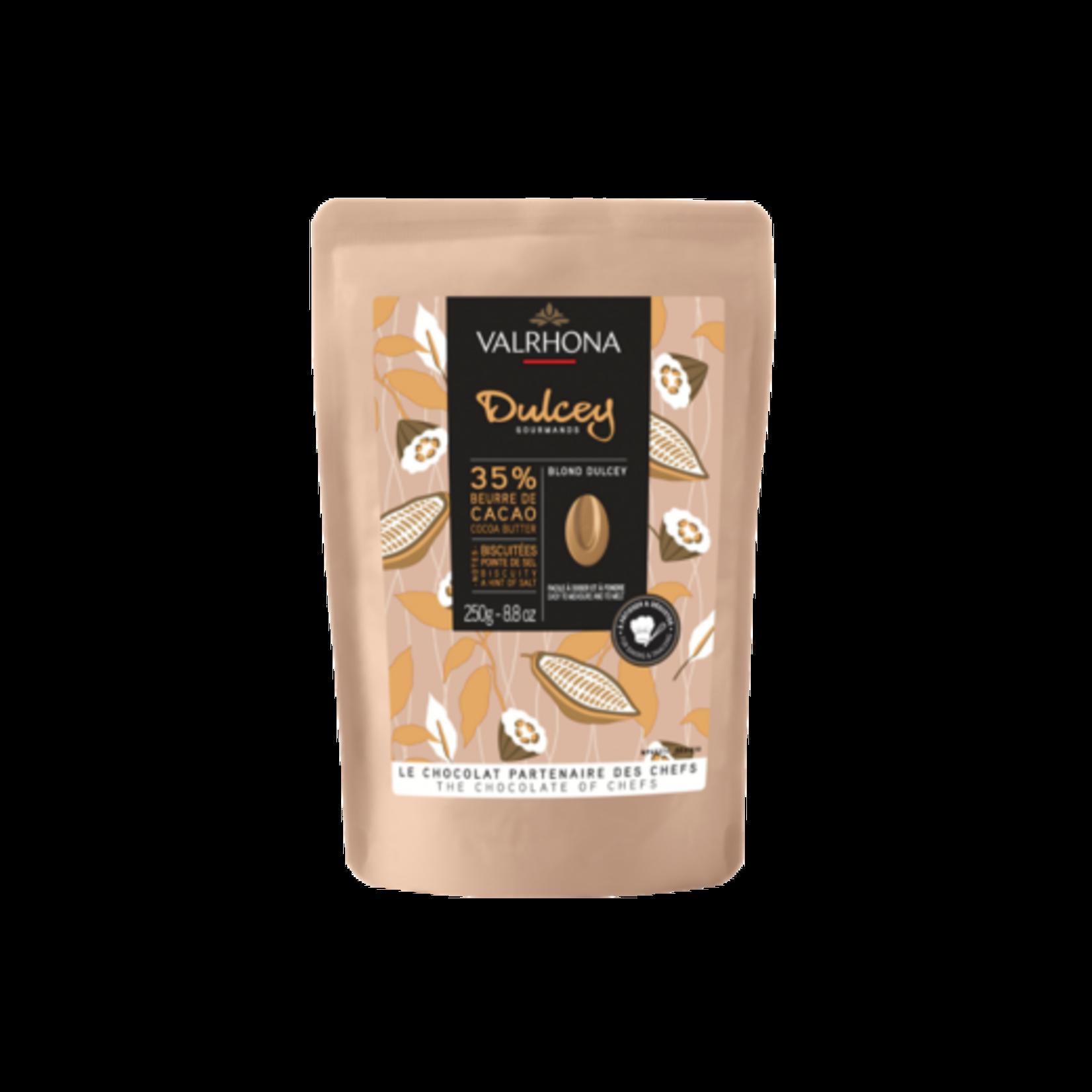 Valrhona Valrhona - Dulcey Blond Chocolate 35% - 250g/8.8oz, 31210