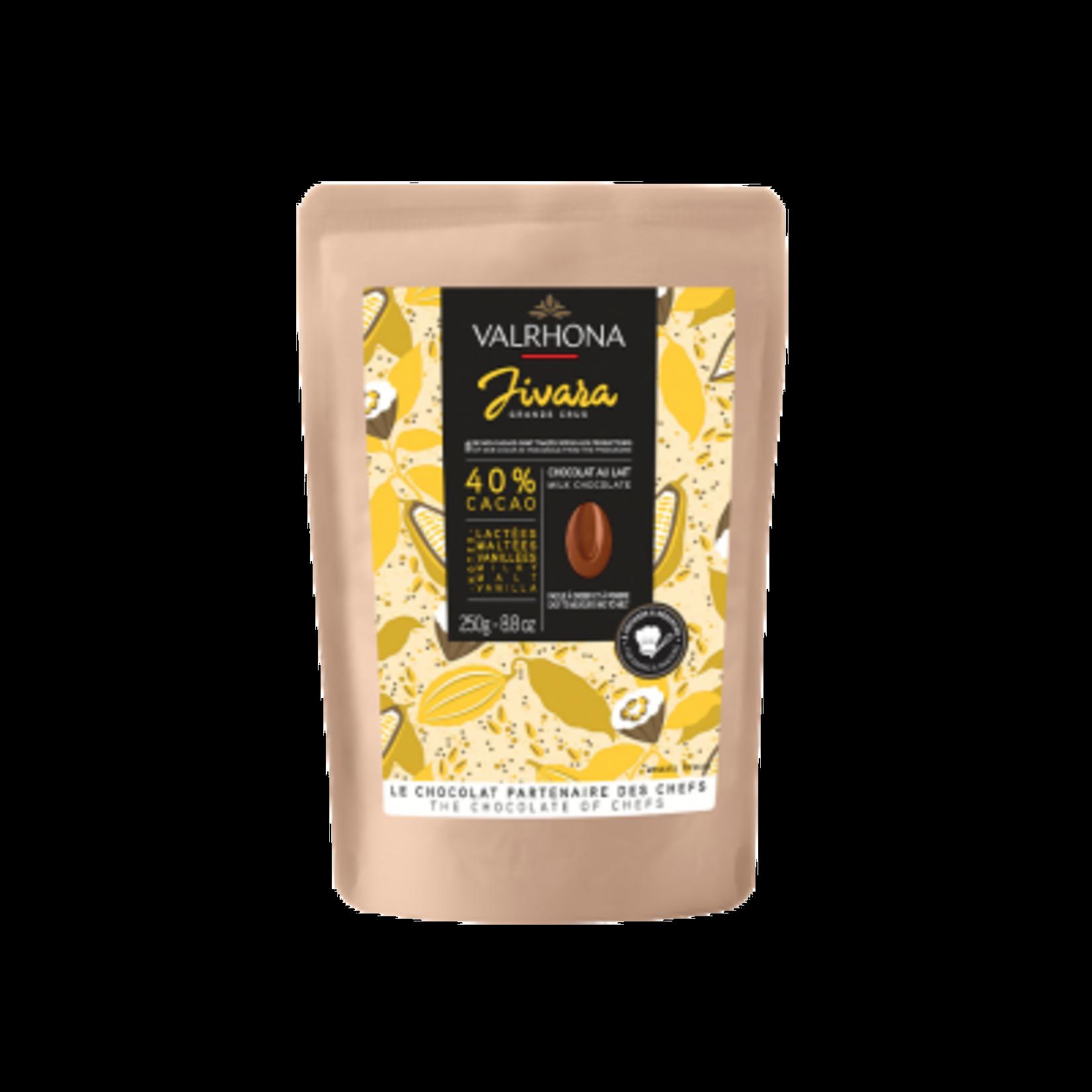Valrhona Valrhona - Jivara Milk Chocolate 40% - 250g/8.8oz, 31211