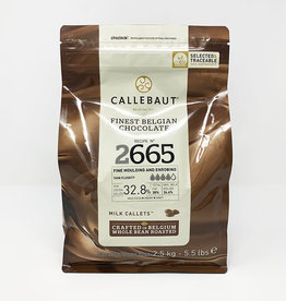 Barry Callebaut Barry Callebaut - 2665 Milk Chocolate 32.8% - 2.5kg/5.5lb, 2665-E4-U71