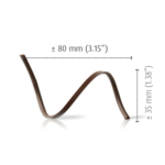 Dobla Dobla - Dark Chocolate Spiral (80ct), 97145 | 77051