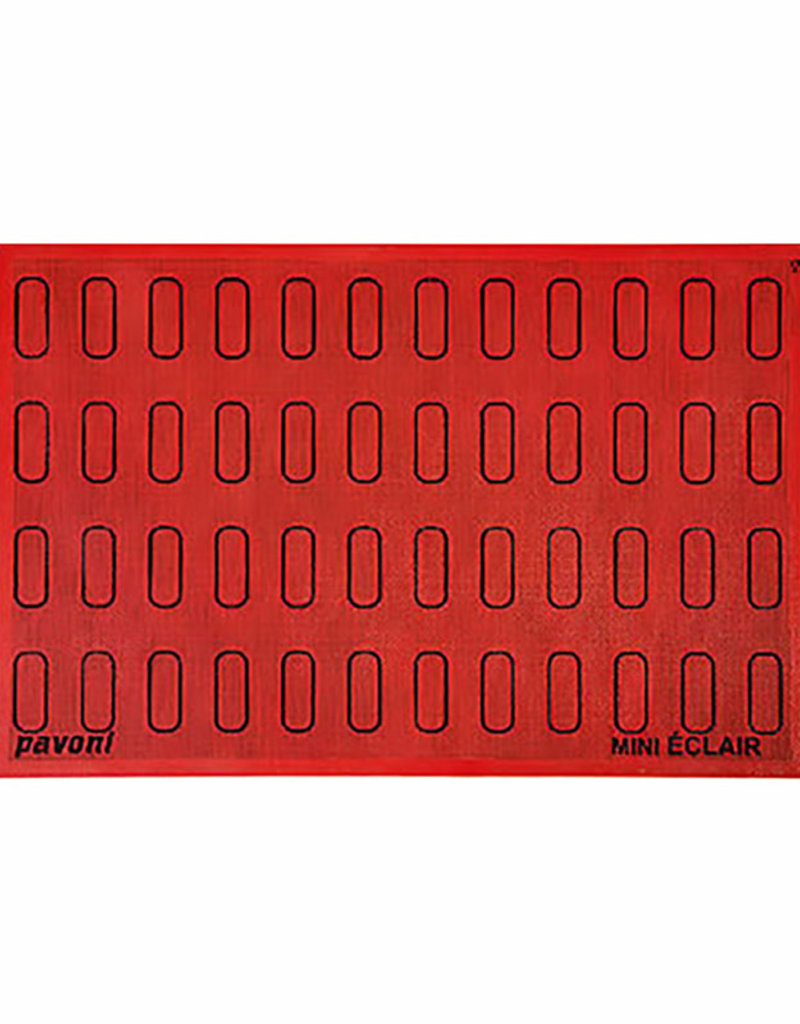 Pavoni Pavoni - Eclair silpat (48 outlines), ECL48