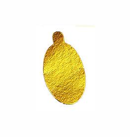 Enjay Enjay - Mono board - oval, Gold - 2.25x3.9'' (500ct), .045-OVALTG