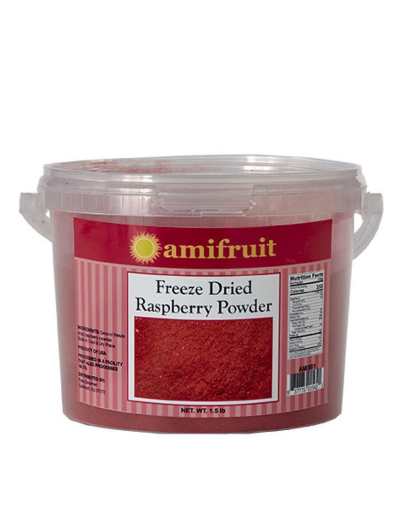 Amifruit Amifruit - Freeze dried Raspberry Powder - 1.5lb, AMI561