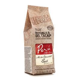 Republica del Cacao Republica de Cacao - Peru Milk 38% Couverture - 5.5lb, 18859