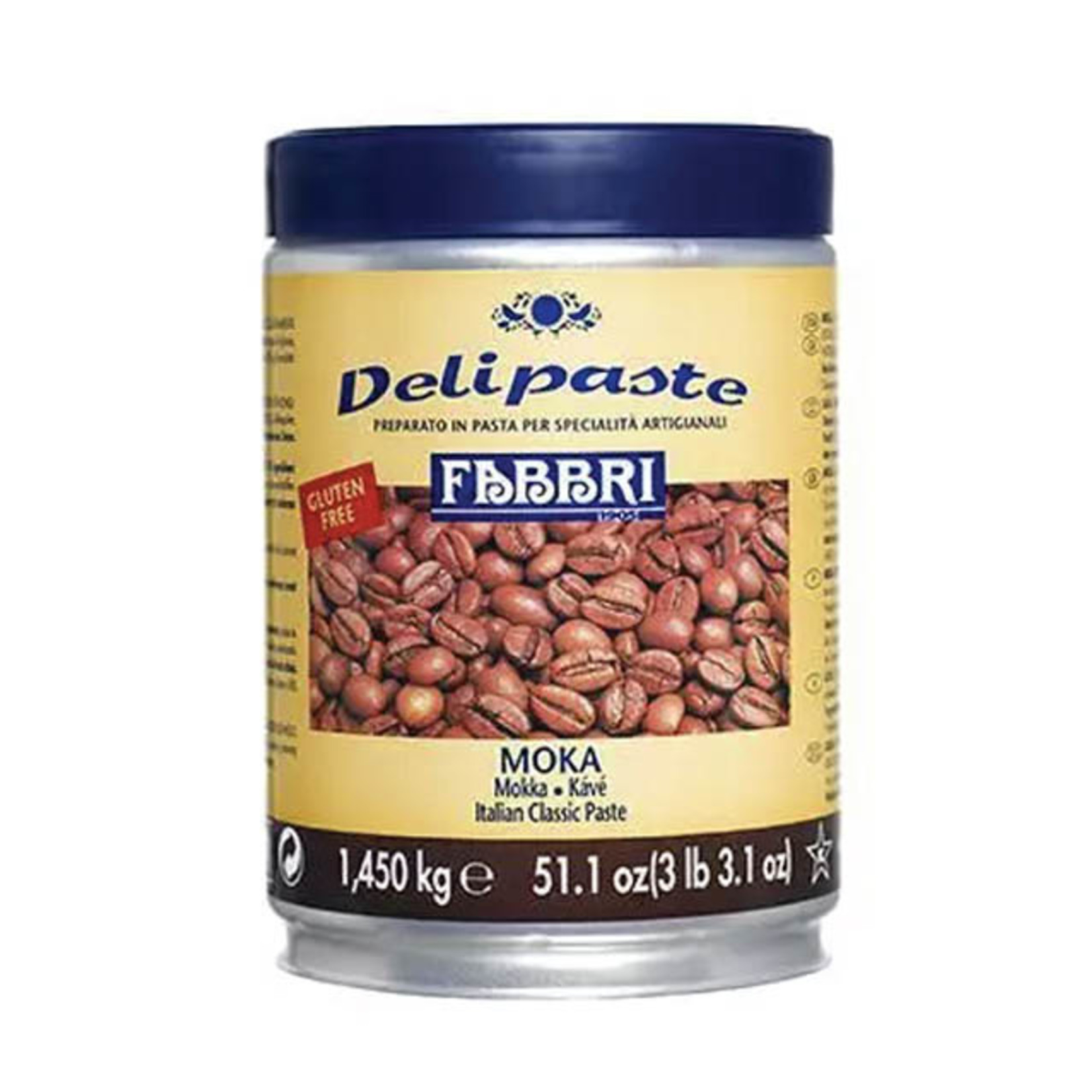 Fabbri Fabbri - Moka (Coffee) Delipaste - 1.35kg, 9225435-7BB