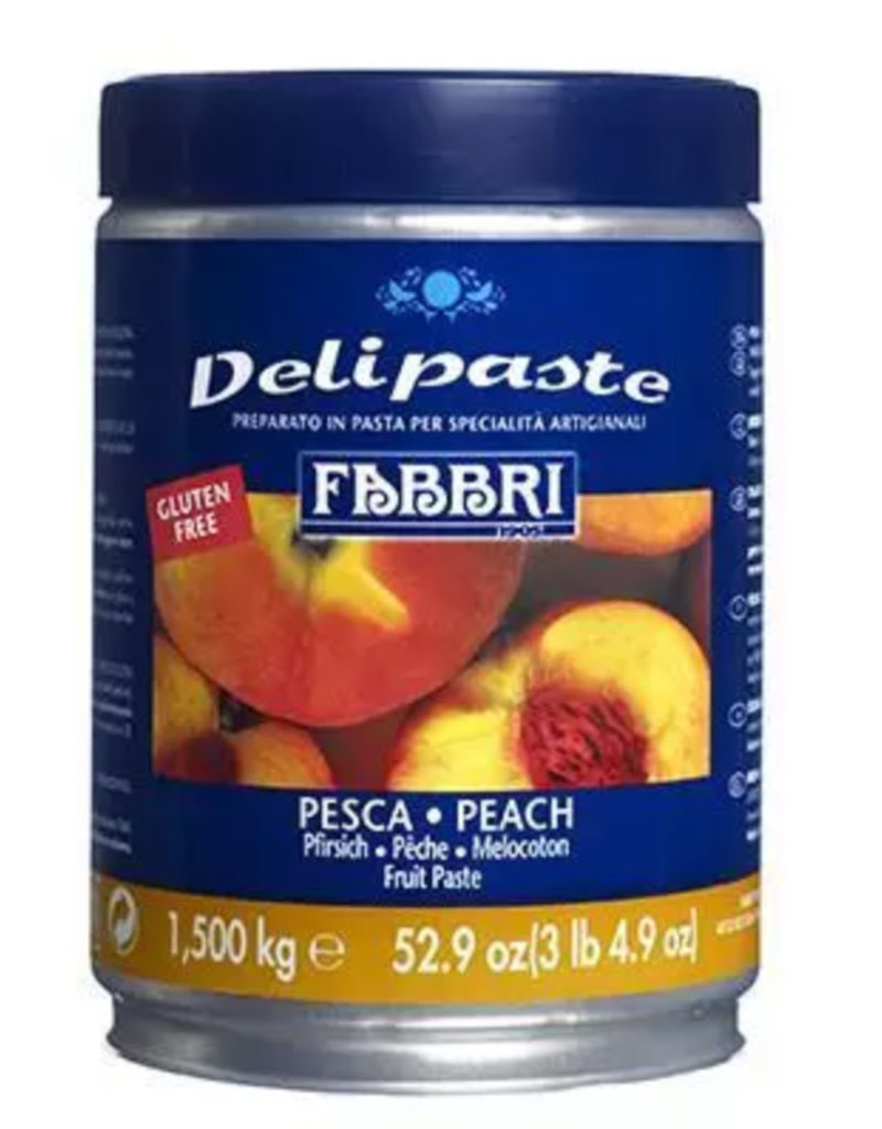 Fabbri Fabbri - Peach Delipaste - 1.5kg, 9225777-35Z