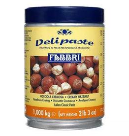 Fabbri Fabbri - Creamy Hazelnut Delipaste - 1kg/2.2lb, 9226700-59C