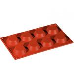 Pavoni Pavoni - Formaflex silicone mold, Tartelletta (8 cavity), FR040