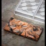 Pavoni Pavoni - Polycarbonate Chocolate Mold, Bar - Pave, PC5006 (3 cavity)