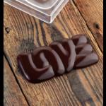 Pavoni Pavoni - Polycarbonate Chocolate Mold, Bar - Lovely, PC5000 (3 cavity)