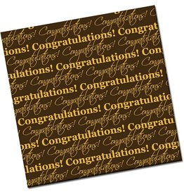 Chocobutter Chocobutter Transfers - Congratulations (10 sheets)