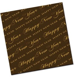 Chocobutter Chocobutter - Cocoa butter transfer, Happy New Year (10 sheets)