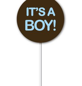 Chocobutter Chocobutter - Cocoa butter transfer - Lollipop, It's a Boy (20 sheets)