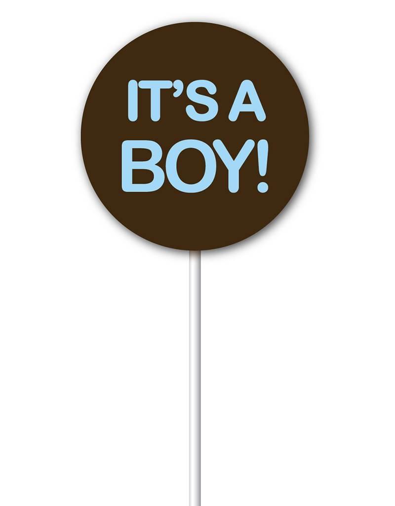 Chocobutter Chocobutter - Lollipop transfers - It's a Boy (20 sheets)