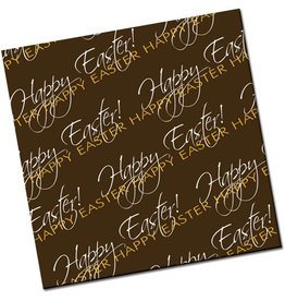 Chocobutter Chocobutter Transfers - Happy Easter (10 sheets)