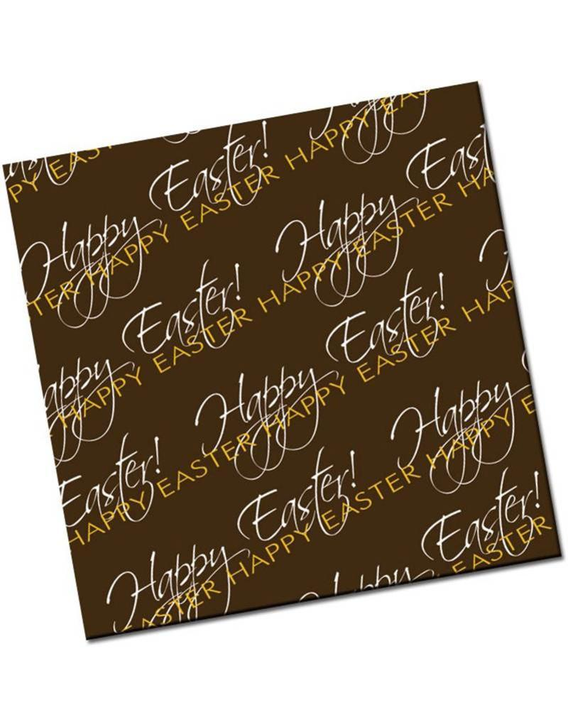 Chocobutter Chocobutter - Cocoa butter transfer, Happy Easter (10 sheets)