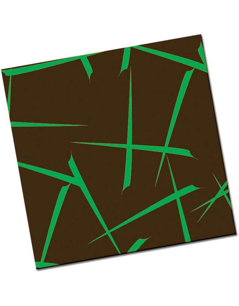 Chocobutter Chocobutter - Cocoa butter transfer, Kabuki, Green (10 sheets)