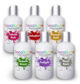 Chocobutter Chocobutter - Cosmic Starter Cocoa butter kit- 6 colors - 1.8oz *10*