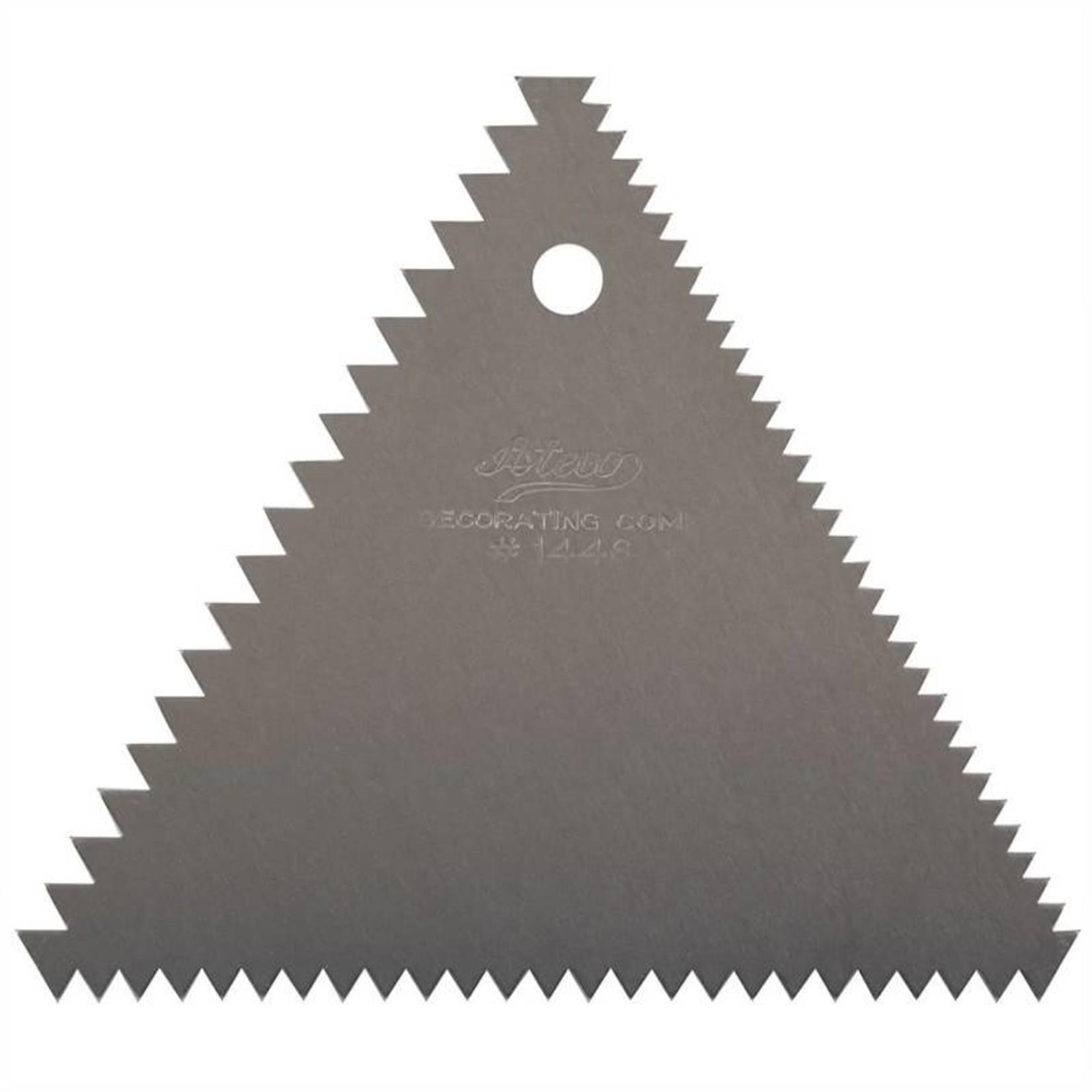 Ateco Ateco - Triangle Decorating Comb, 1446