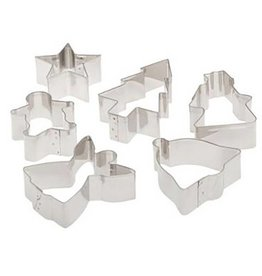 Ateco Ateco - Christmas Cookie Cutter (5ct), 4842 *10*