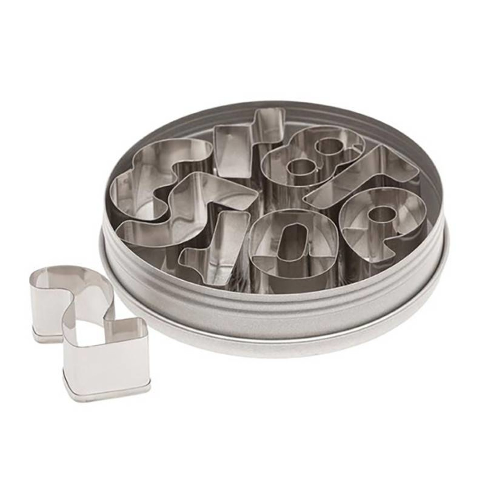 Ateco Ateco - Number Cutter Set - 1.5'', 7802
