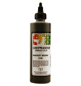 Chefmaster Chefmaster - Airbrush, Harvest Brown - 9oz