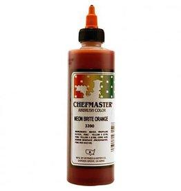 Chefmaster Chefmaster - Airbrush, Neon Orange - 9oz