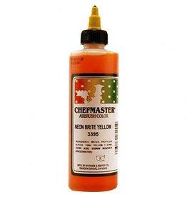 Chefmaster Chefmaster - Airbrush, Neon Yellow - 9oz