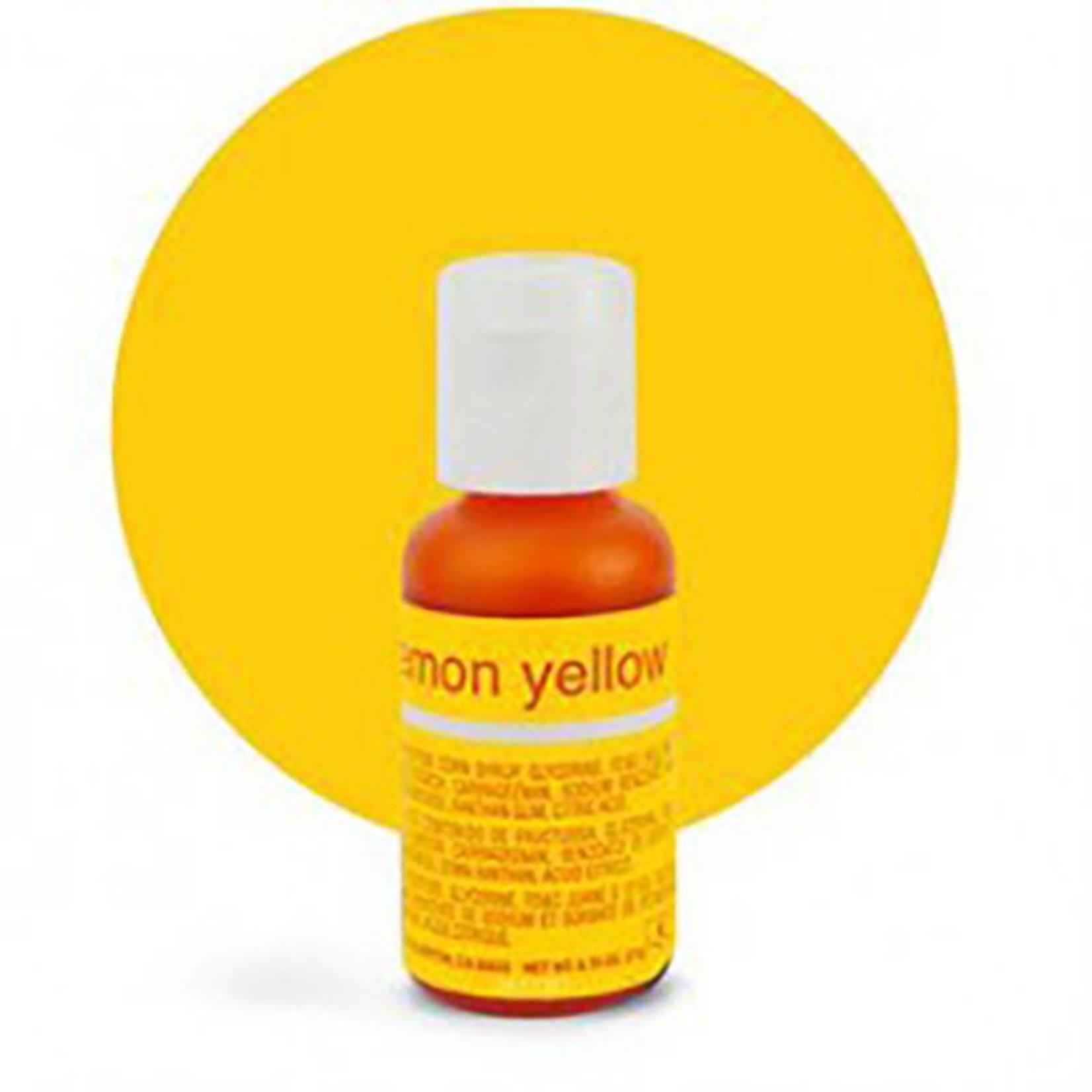 Chefmaster Chefmaster - Lemon Yellow Gel food color - 0.70oz