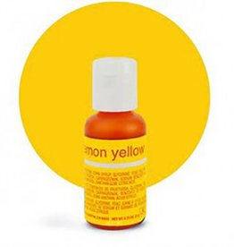 Chefmaster Chefmaster - Lemon Yellow Gel food color - 0.70oz