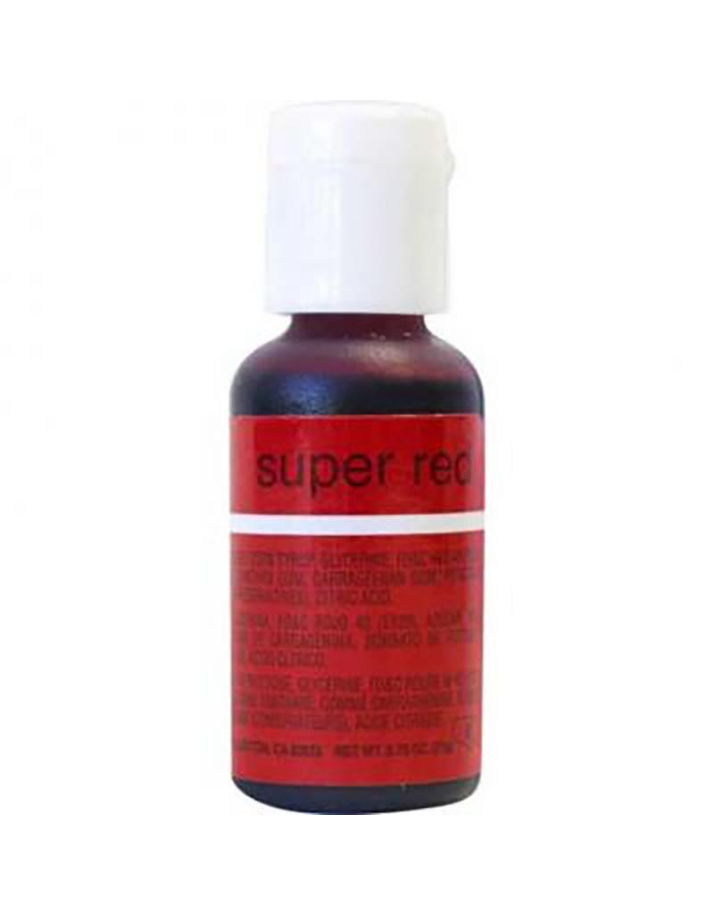 Chefmaster Chefmaster - Super Red Gel food color - 0.70oz